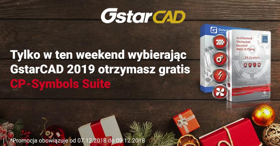 Tylko w ten weekend - wybierając GstarCAD 2019 zyskasz gratis CP-Symbols Suite