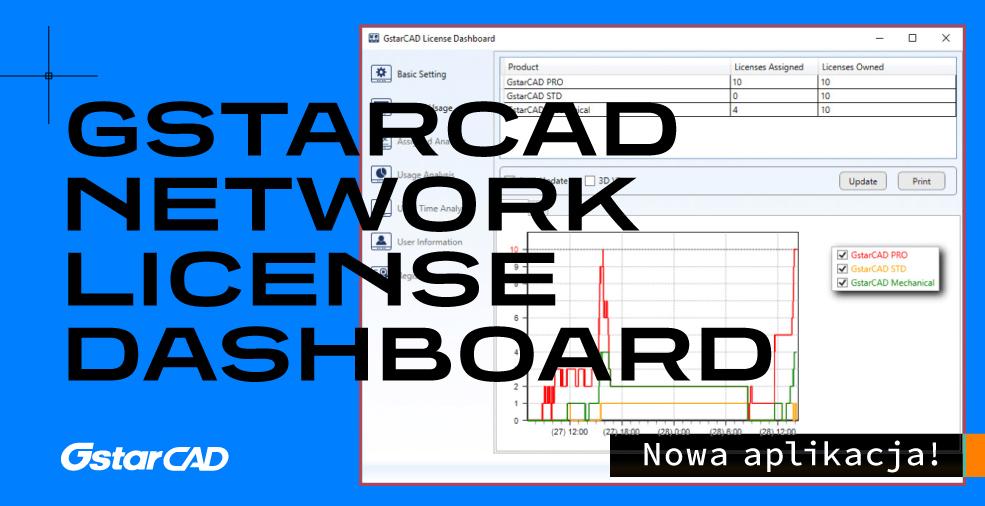 GstarCAD Network License Dashboard