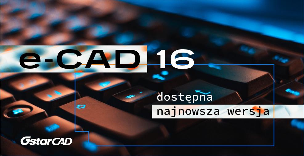 Nakładki e-CAD 16 dla GstarCAD